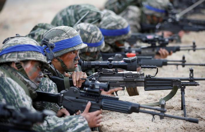 США и Южная Корея возобновят учения 1 апреля