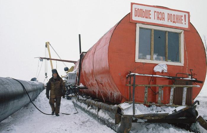 """""""Газпром"""" проанализирует связь между добычей газа и смещением земной поверхности"""