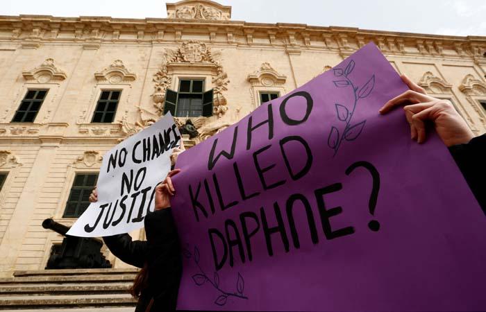 Россиянку задержали в Греции в связи с делом об убийстве журналистки на Мальте