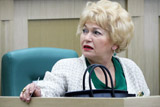Матвиенко сделала Нарусовой замечание в связи с критикой в адрес Мединского