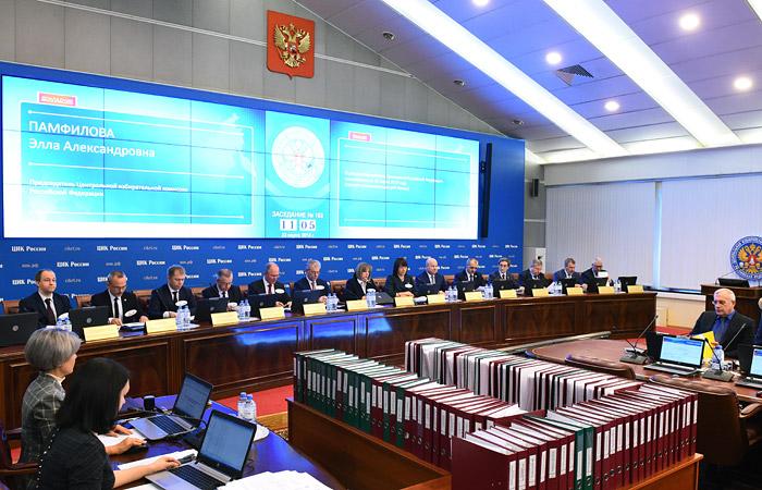 ЦИК утвердил итоги выборов президента РФ