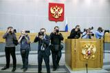 """В Госдуме сообщили о лишении аккредитации 48 журналистов из-за """"дела Слуцкого"""""""