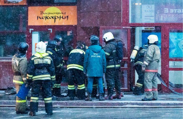 МЧС сообщило о 35 без вести пропавших после пожара в Кемерово