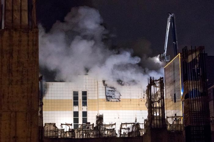 Источник сообщил о 40 жертвах пожара в кемеровском ТЦ