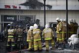 В Кемерове снесут здание сгоревшего торгового центра