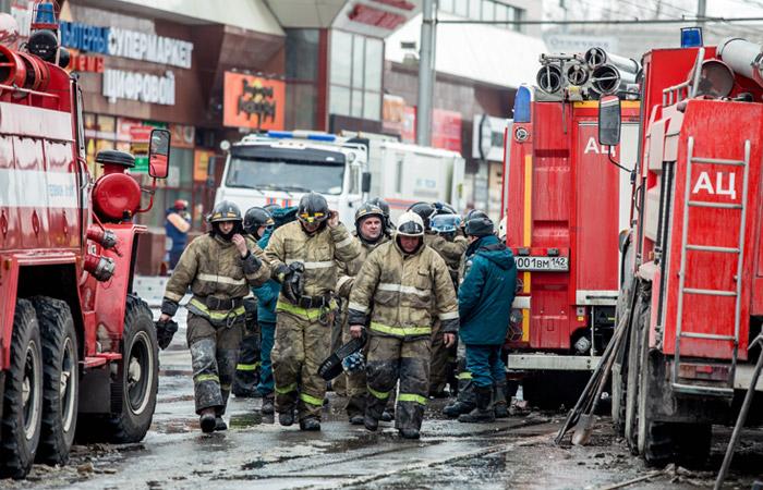 Глава СКР счел наиболее вероятной причиной пожара в Кемерове короткое замыкание