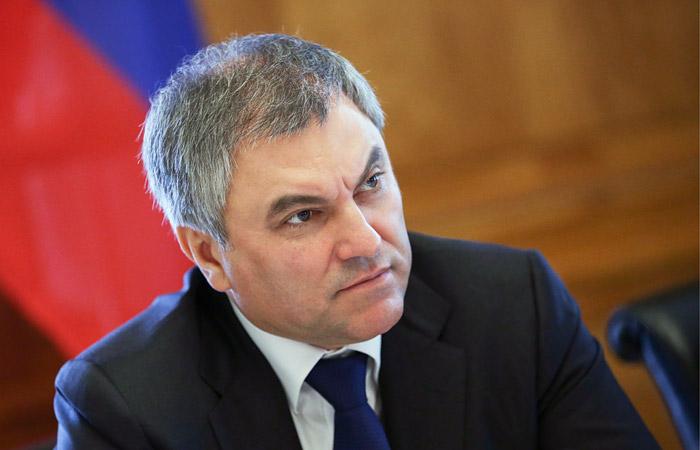 Вячеслав Володин пожертвовал 25 млн. руб. наблаготворительность