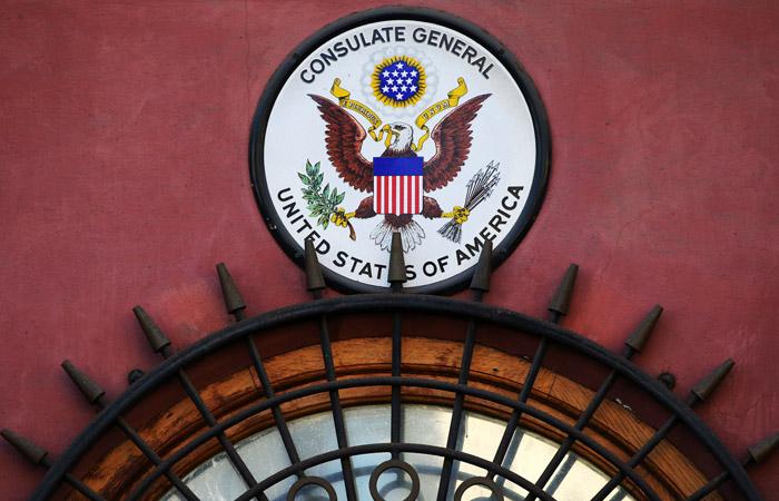Посольство США наФурштатской вПетербурге выселяют