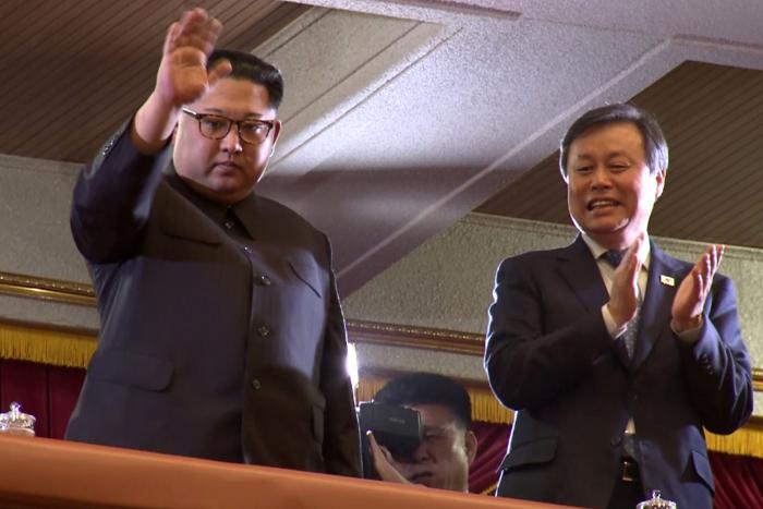 Картинки по запросу Ким Чен Ын заявил о восхищении концертом южнокорейских поп-музыкантов