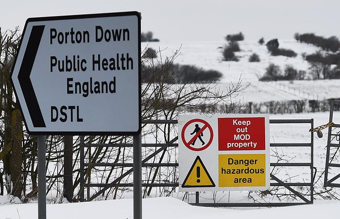 Милиция Великобритании подозревает, что Скрипаля отравили «новичком» вгречке