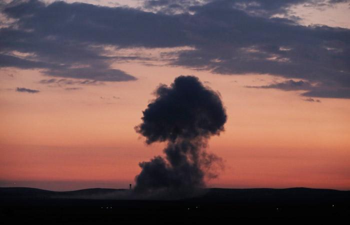 Минобороны РФ обвинило Израиль вракетном ударе поавиабазе вСирии