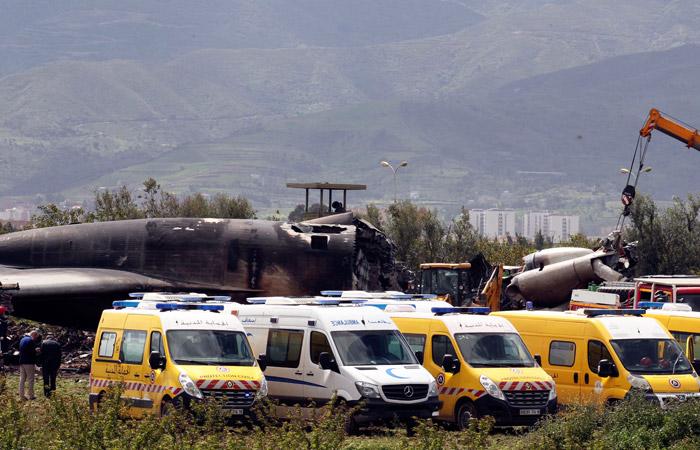 В результате авиакатастрофы в Алжире погибли 257 человек