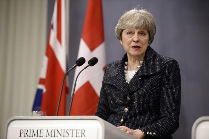 Тереза Мэй отказалась присоединяться к удару по Сирии