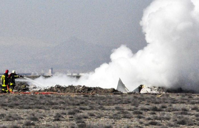 В Алжире разбился военно-транспортный самолет