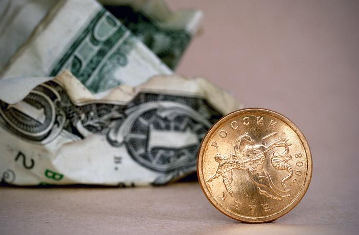 ЦБРФ опустил курсы доллара иевро неменее чем на2 рубля