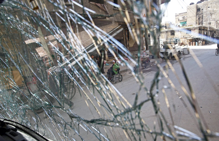 Россия ввела в сирийский город Дума военную полицию