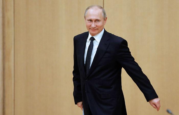 Доходы Путина за 2017 год превысили 18 млн рублей
