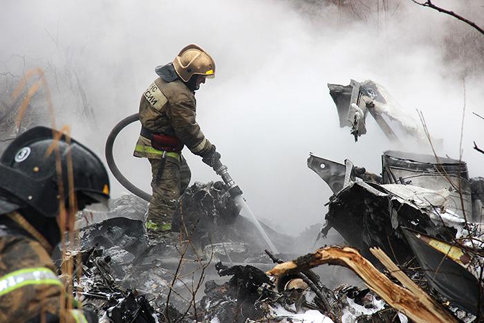 Следователи подтвердили гибель шести человек при крушении вертолета в Хабаровске