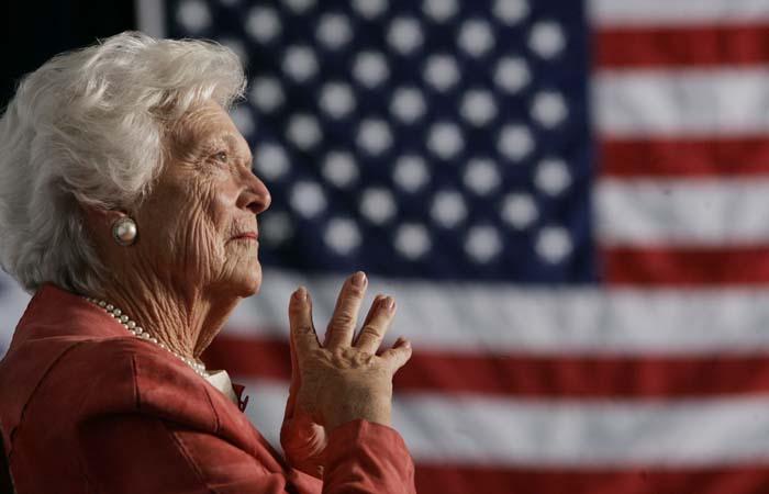 Умерла экс-первая леди США Барбара Буш