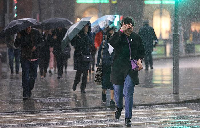 Собянин предупредил москвичей о второй волне шторма в столице