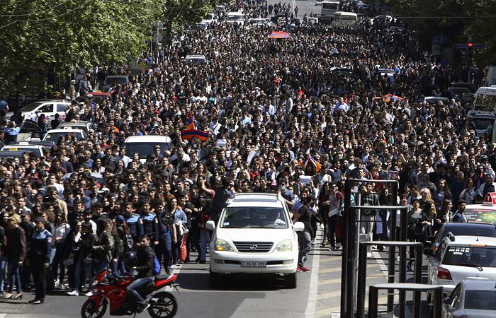 В Армении 41 человек задержан по делу об организации беспорядков в Ереване
