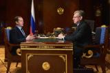 Кудрин обсудил с Медведевым разработанную стратегию развития РФ