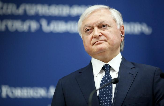 Руководитель МИД Армении встретится в российской столице спредставителями властиРФ