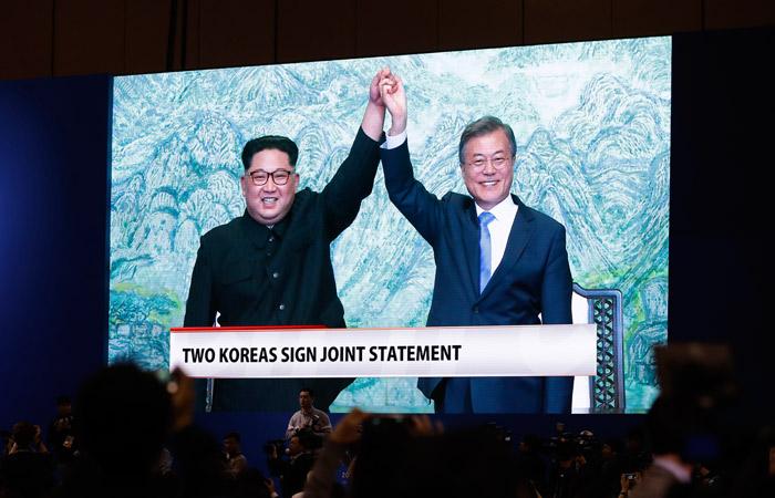 Ким Чен Ын выступил за объединение двух Корей