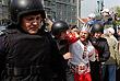 Задержание участников акции на Пушкинской площади