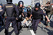 Организаторы несогласованной акции в центре Москвы сообщили о задержании более 140 человек