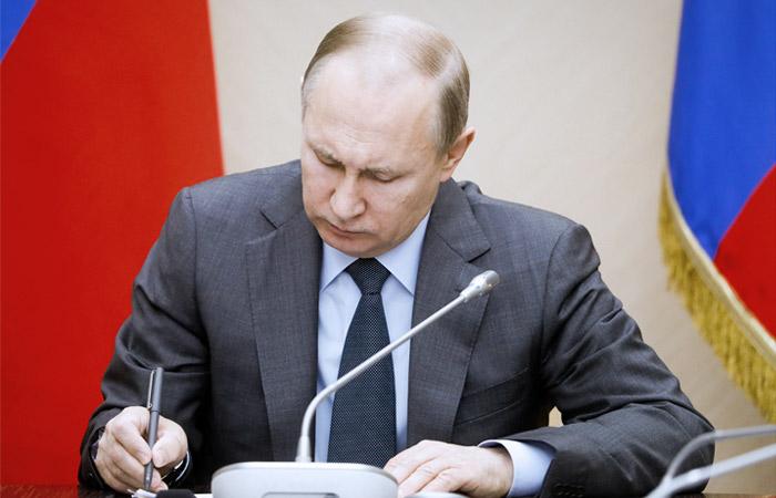 """Путин подписал новый """"майский указ"""""""