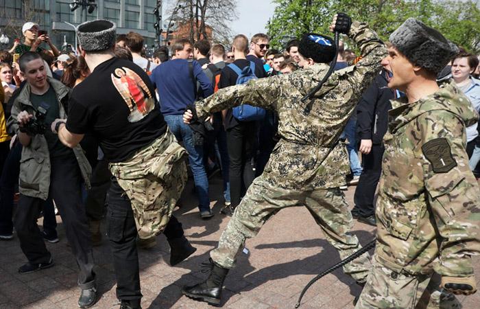 В СПЧ заинтересовались ролью казаков в пресечении акции оппозиции в Москве