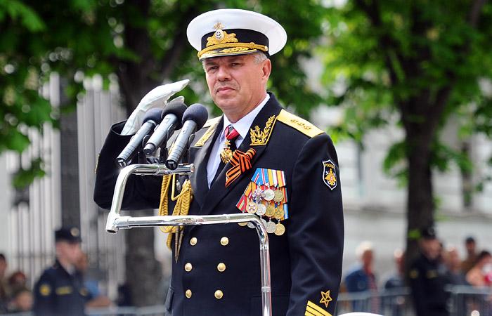 Адмирал Витко покинет пост командующего Черноморским флотом