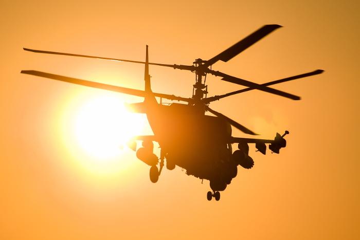 В Сирии потерпел катастрофу вертолет Ка-52