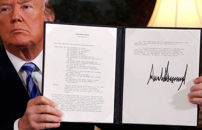 Дополнительные санкции США могут коснуться сотрудничающих с Ираном европейских компаний