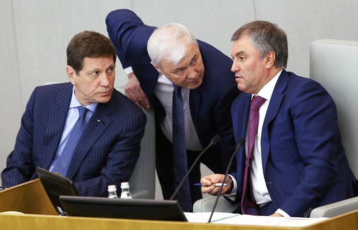 Жуков и Аксаков оказались в числе кандидатов на пост главы Счетной палаты РФ