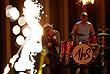 """Рок-группа AWS из Венгрии со своей песней """"Viszlát nyár"""" (""""Прощай, лето!"""") в стиле металкора """"взорвала"""" зал """"Евровидения"""", но в итоге лишь 21-е место"""