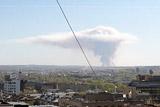 В районе пожара на бывшем военном полигоне в Удмуртии ввели режим ЧС