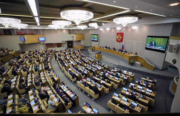 Дума приняла во II чтении законопроект о санкциях против США и иных стран