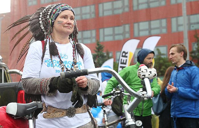 В московском велопараде поучаствовали более 30 тысяч человек
