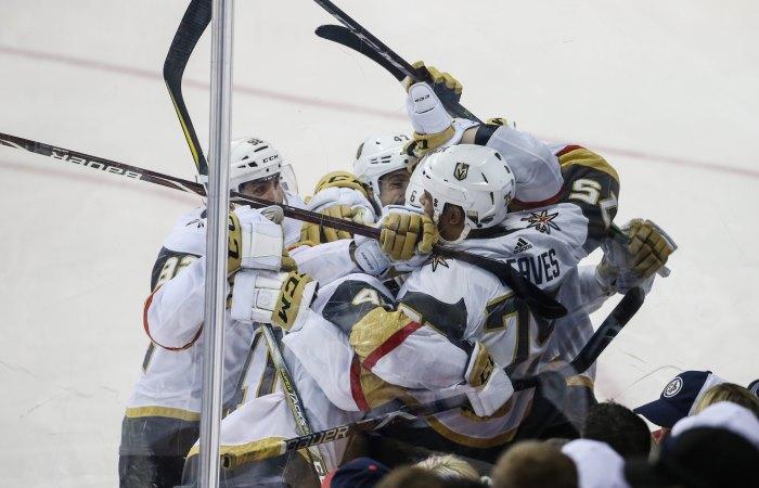 Новичок НХЛ «Вегас» победил «Виннипег» ивышел вфинал плей-офф