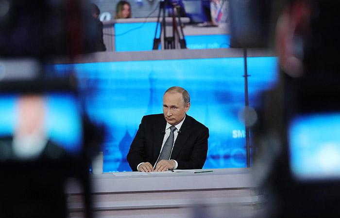 """Очередная """"прямая линия"""" с Путиным выйдет 7 июня"""