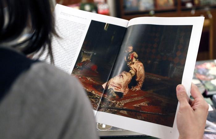 """После реставрации картину Репина """"Иван Грозный"""" поместят в бронированный кейс"""