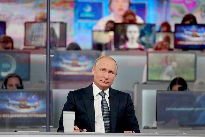 """""""Прямая линия"""" с Путиным. Коротко"""