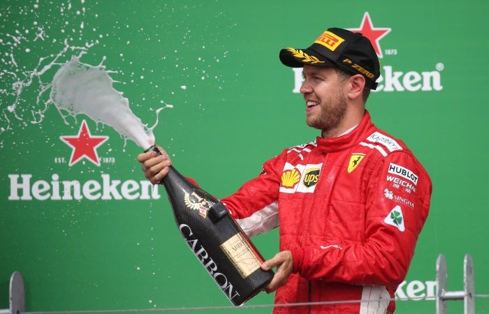 Феттель выиграл Гран-при Канады'Формулы-1