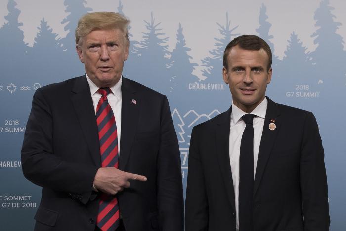 Макрон призвал страны G7 продолжать переговоры по вопросам торговли
