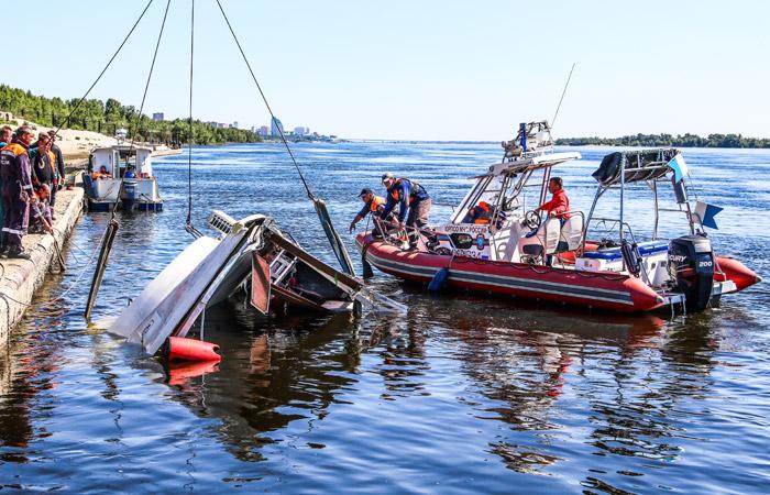 Капитан затонувшего на Волге катамарана был пьян
