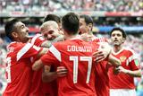 Россия разгромила Саудовскую Аравию в первом матче ЧМ-2018