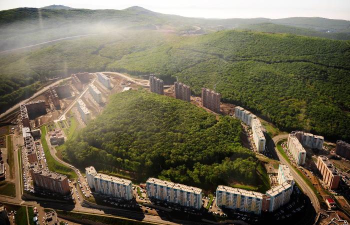 Застройщик заявил о сокращении срока строительства домов во Владивостоке