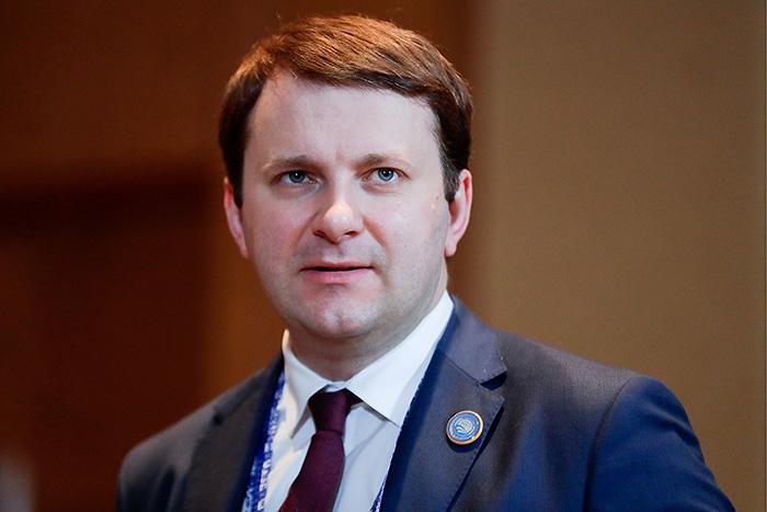 Орешкин объявил овведении пошлин натовары изсоедененных штатов